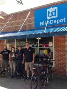 Bike Depot Crew-Clean Air Hero 2014