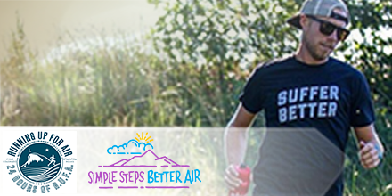 "The RAQC's Simple Steps. Better Air. Sponsors ""Running Up For Air"" Endurance Run Event"