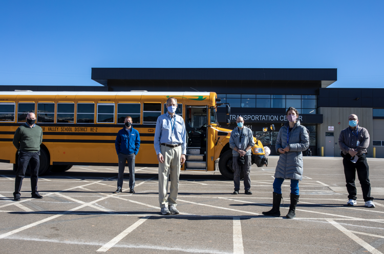RAQC's ALT Fuels Colorado Program Helps Fund First Electric School Bus in the State